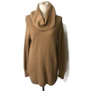 Michael Michael Kors S camel cowl tunic sweater